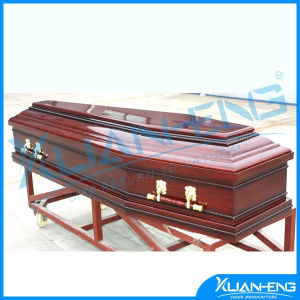 American Style Funeral Metal and Wooden Casket pictures & photos