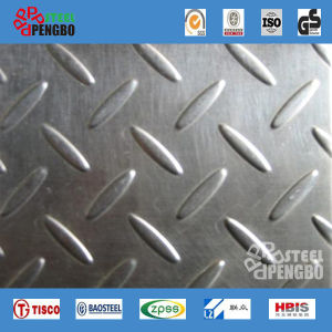 304 316L 430 Stainless Steel Antiskid Sheet Pattern Steel Plate pictures & photos
