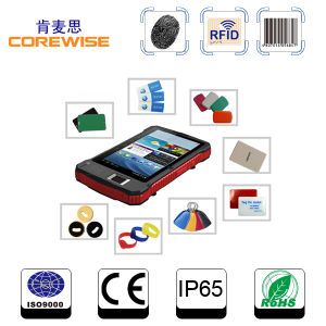 Portable Data Collector, Long Distance RFID Reader 13.56MHz pictures & photos