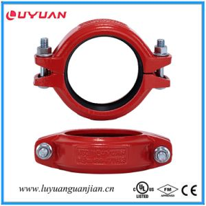 "UL Listed, FM Approval Ductile Iron Grooved Flexible Clamps 1 1/4""-42.4 pictures & photos"