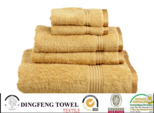 100% Color Terry Jacquard Hotel Home Bath Towel pictures & photos