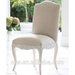 Rch-4027 Carved Dining Chair with Fabric pictures & photos