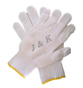 Cotton / Knitted Safety Glove (JK41005) pictures & photos