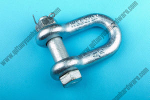 Rigging G-2150 Carbon Steel U. S. Type Dee Shackle pictures & photos