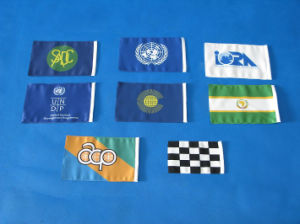 Portable Hand Flag with Pole, Customized Waving Flag pictures & photos