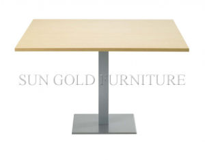 Square Shape Cheap Small Meeting Table (SZ-MT026) pictures & photos