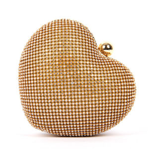 Cute clutch Heart Shaped Eveningbag for Lover Gift pictures & photos