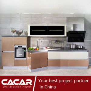 Paco Rabanne Practical Stylish Stoving Varnish Lacquer Kitchen Cabinet (CA12-09) pictures & photos