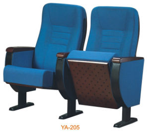 Modern Metal Folding Fabric Cushion Cinema Seat (YA-205) pictures & photos