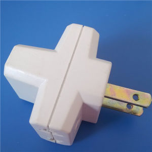 2p Flat Pins Plug Transfer to 3 Way Socket (Y117) pictures & photos