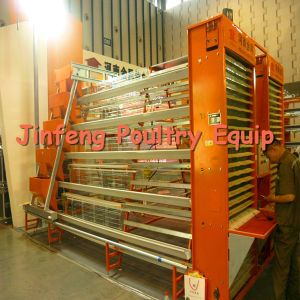 3tiers 96birds to 120 Birds Poultry Cage for Chicken Farm pictures & photos