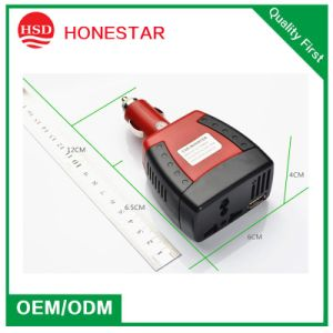 Mini Car Inverter 12V to 110V-220V-240V with 5V 2.1A Charger pictures & photos