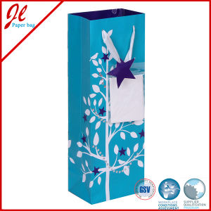 2015 Latest Recycled Christmas Paper Bags for Bottle pictures & photos