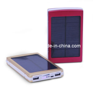 15000mAh Waterproof Solar Power Bank with Dual Output (SC-08)