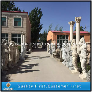 Hand Carved Garden Sculpture, Marble Stone Statue Stone Carving pictures & photos