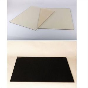 Black and Transparent Microcrystalline Ceramic Glass pictures & photos