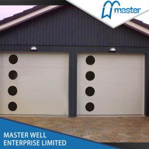 Ral 9016 White Color Steel Garage Door with Mechanism pictures & photos