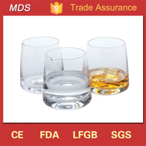 Scotch Glassware Thick Whisky Bar Drinking Glass/Crystal Whiskey Glass pictures & photos