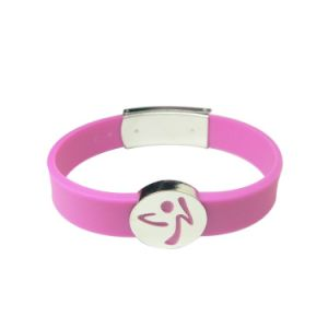 Custom Silicone Bracelet for Promtional Gift (KW-03) pictures & photos