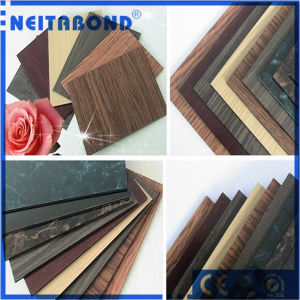 PE/PVDF Coating Aluminum Composite Panel ACP with Wood/Marble Color pictures & photos