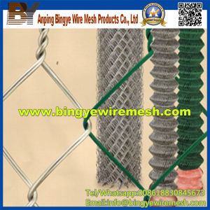 PVC Coated Chain Link Fence for Sale Factory pictures & photos