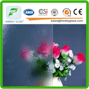 3mm, 4mm, 5mm, 6m, 8mm Glue Chip Clear Patterned Glass for Door Windows pictures & photos