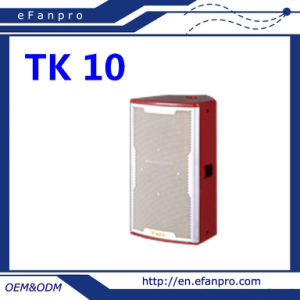 Attractive Design Single 10 Inch Audio Equipment (TK-10) Professional Karaoke Speaker pictures & photos