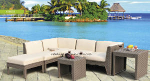 High Quality PU Leather and Rattan Furniture pictures & photos