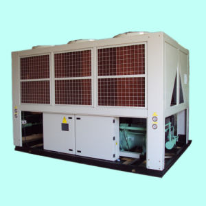 Air-Cooled Industrial Chiller Compressor Type Screw Chiller with Semi-Hermetic Screw Compressor pictures & photos