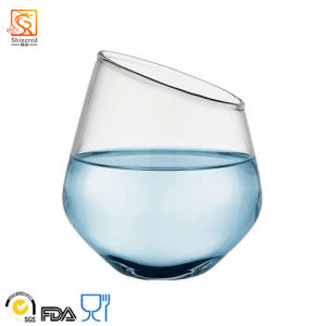 Hand-Blown High Borosilicate Glass Cup (XLHJB-002 420ml) pictures & photos