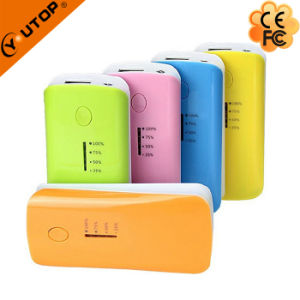 Elegant Portable Power Bank with LED Torch 4000/4400/5200/6000mAh (YT-PB04) pictures & photos