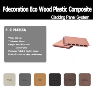 100% Recycled WPC Material Composite Wood WPC Wall Panel pictures & photos