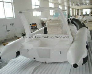 Rib Fiberglass Work Fishing Boat 730 Ce for Sale pictures & photos