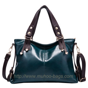 Fashion Leather Lady Handbag for Outdoor (MH-6027) pictures & photos