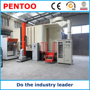 High Quality Clean-Easy Automatic Powder Coating Booth for Complex Workpieces pictures & photos