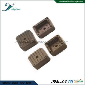 Pitch 1.27 Plcc IC DIP Straight  Type Socket  Black Housing pictures & photos