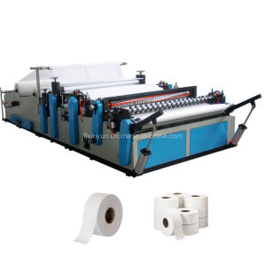Jumbo Toilet Paper Roll Making Machine pictures & photos