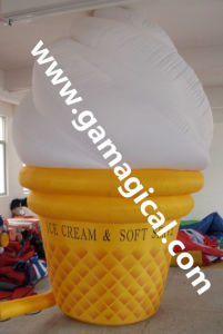 Nice Inflatable Ice Cream Model for Advertising (MIC-594) pictures & photos