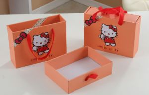 Printed Snack Packaging Box with Cute Shapes pictures & photos