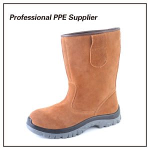 Lightweight Genuine Leather Safety Work Boot pictures & photos