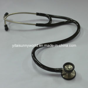 Cardiology Stainless Steel Stethoscope Sw-St18 pictures & photos