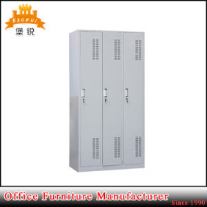 High Quality 3 Door Steel Cabinet Locker pictures & photos