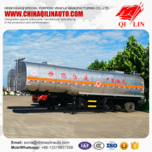 Favorable Price 3 Axles Crude Oil Storage Tank Semi Trailer pictures & photos