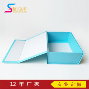 Flat Packing Foldble Paper Boxes Popular Collapsible Magnetic Closure Gift Box pictures & photos