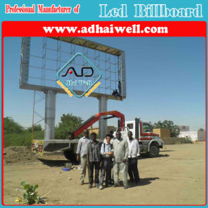 China Manufacturer Outdoor Advertising P10 LED Viedo Sign Billboard Structure pictures & photos