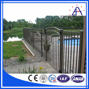 Small Garden Fence, Polished 6063-T5 Aluminum Pool Fence pictures & photos