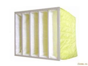 F8 Medium Filter with High-Quality Synthetic Nonwoven Filter Media