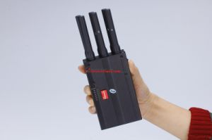 2015 New Handheld 6 Bands Cell Phone Signal Jammer - Durable Jammer with GPS, 4G Wimax, 2g 3G pictures & photos