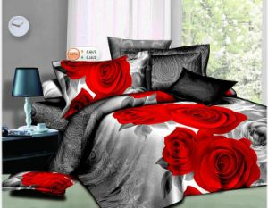 Romantic Rose, Love Heart & 3D Bedding Set pictures & photos
