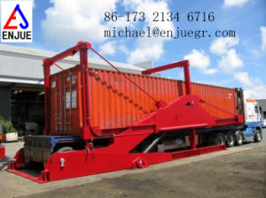 20/40 FT Container Tilting Container Loaders Container Unloader pictures & photos